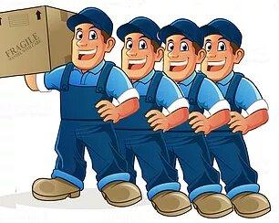 4 men movers